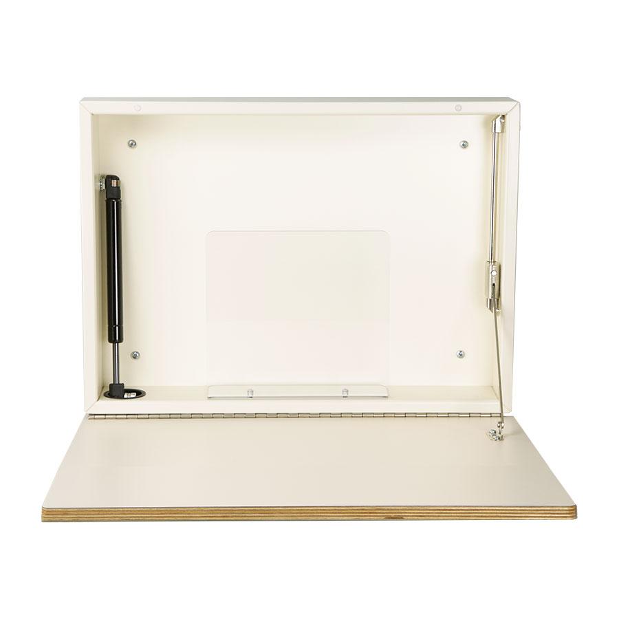 4900d express desk fold down wall desk with self closing door