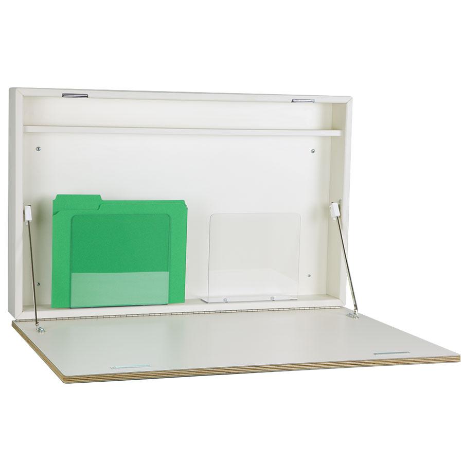 4906 express desk fold down wall desk with pen shelf peter